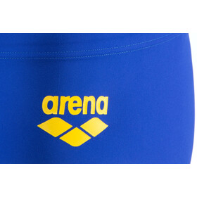 arena One Biglogo Low Waist Shorts Men neon blue-yellow star